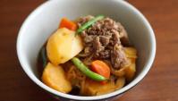 Никудзяга - тушеный картофель с мясом - Рецепт