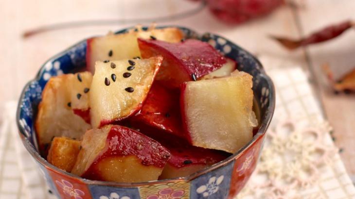 Дайгаку Имо – кусочки сладкого картофеля