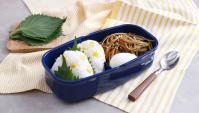 Онигири с кукурузой и Кинпира Гобо - пошаговый рецепт