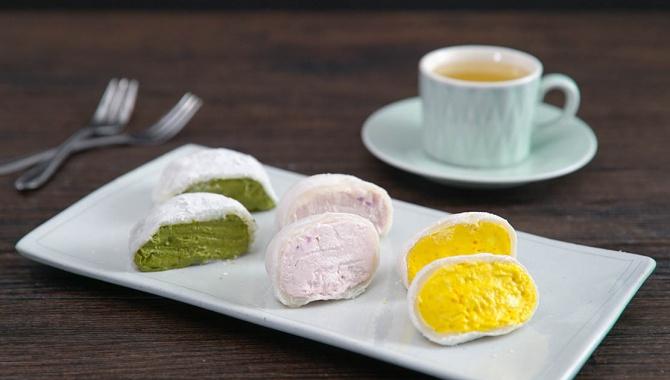 Моти с мороженым  - Рецепт