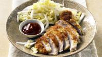 Тонкацу – покрытые панко свиные отбивные с капустой напа - Рецепт