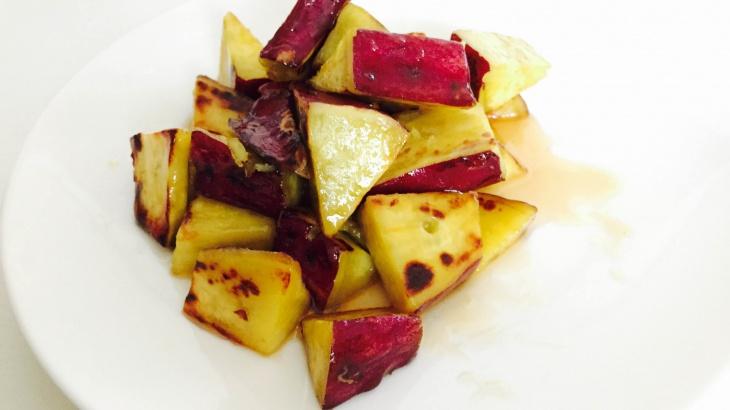 Засахаренный сладкий картофель - рецепт