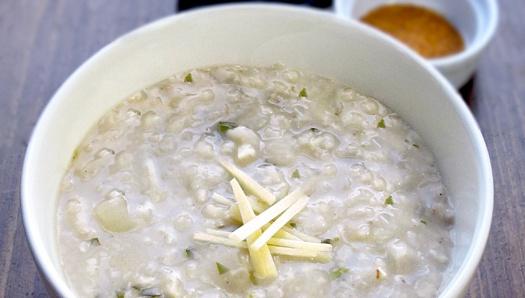 Рисовая каша с имбирем и кинзой - рецепт