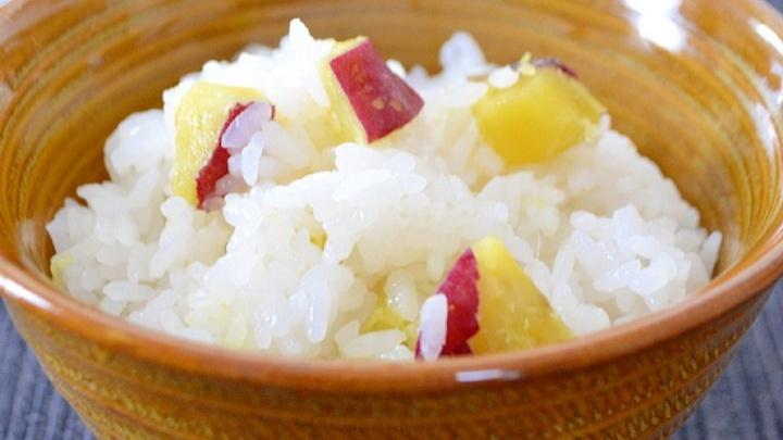 Рис со сладким картофелем - Рецепт