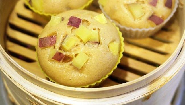 Приготовленные на пару булочки со сладким картофелем и коричневым сахаром - Рецепт