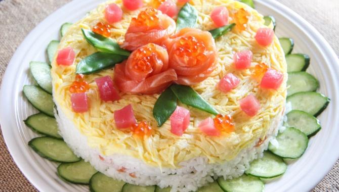 Суши Торт - Рецепт