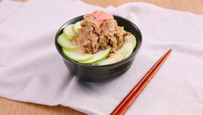 Рис со свининой и яблоком - пошаговый рецепт