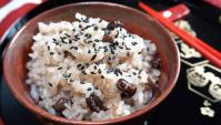 Сэкихан – рис с бобами адзуки