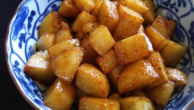 Картофель Терияки - рецепт