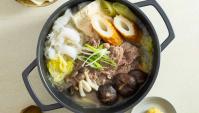 Тушеная говядина с грибами, тофу и пастой мисо - пошаговый рецепт