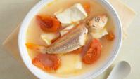 Рыбный суп с тофу - пошаговый рецепт