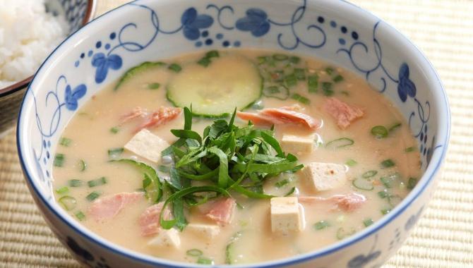 Холодный суп Хиядзиру - рецепт