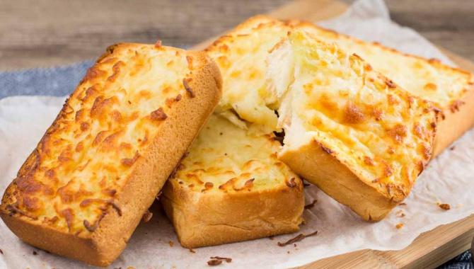 Сырные тосты с чесноком - пошаговый рецепт