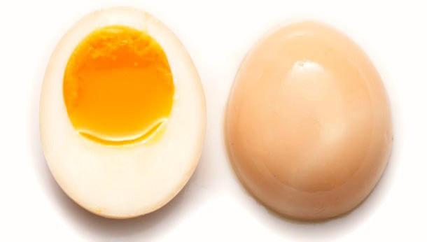 Варёные яйца в маринаде для Рамена - Рецепт