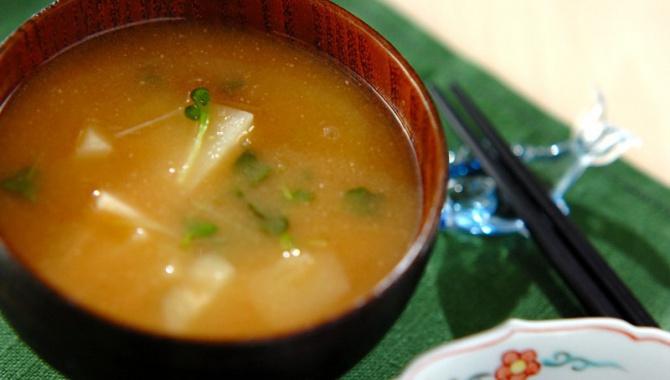 Мисо-суп с картофелем - пошаговый рецепт