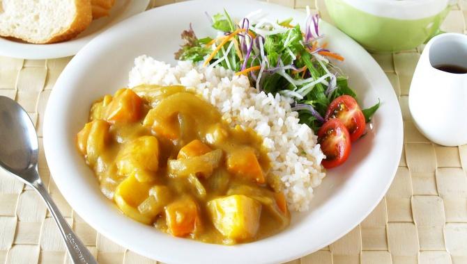 Карри Райс для вегетарианцев - Рецепт