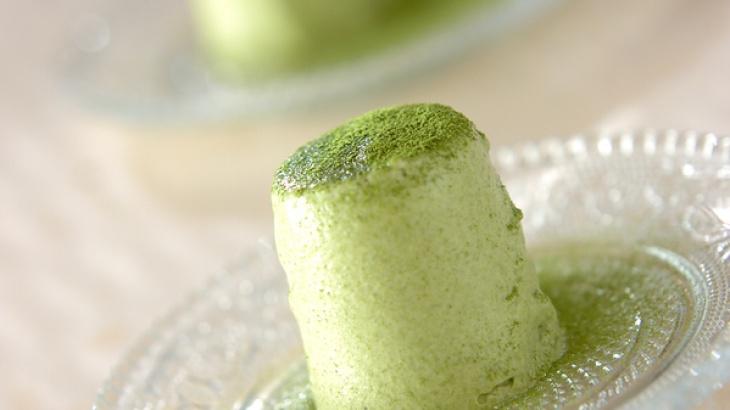 Пудинг с зелёным чаем Матча