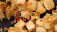 Жареный тофу с перцем - пошаговый рецепт