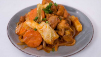 Жареная острая курица - пошаговый рецепт
