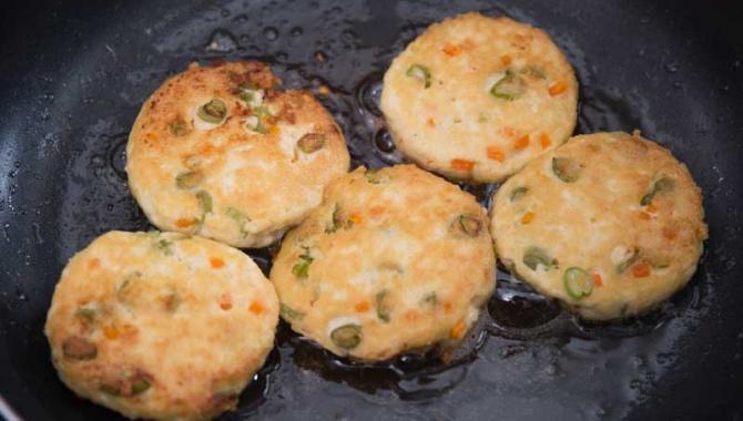 Лепешки из тофу и зеленых бобов - пошаговый рецепт