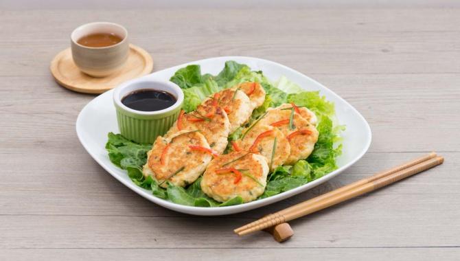 Куриные котлетки с тофу и соусом терияки - пошаговый рецепт