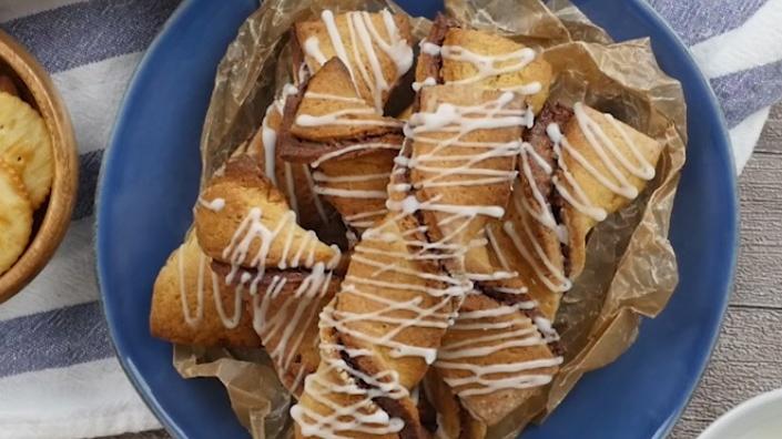 Печенье с Нутелой
