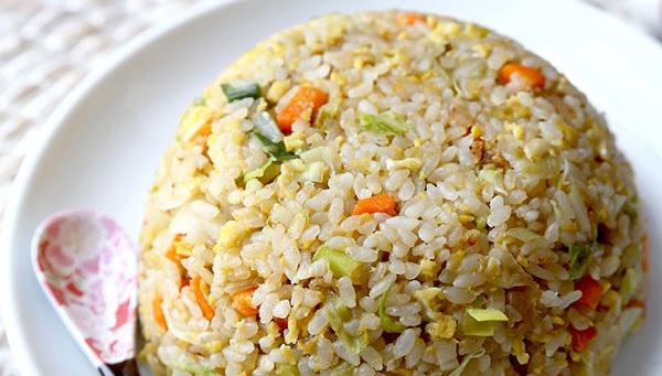 Жареный рис - пошаговый рецепт