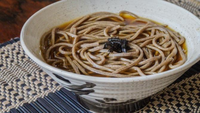 Тосикоси Соба - Рецепт