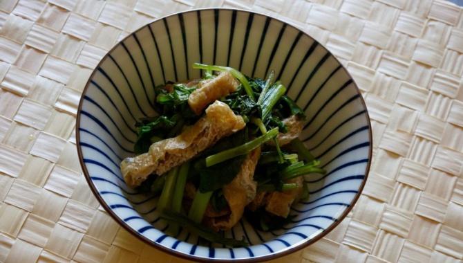 Комацуна Нибитаси - Рецепт
