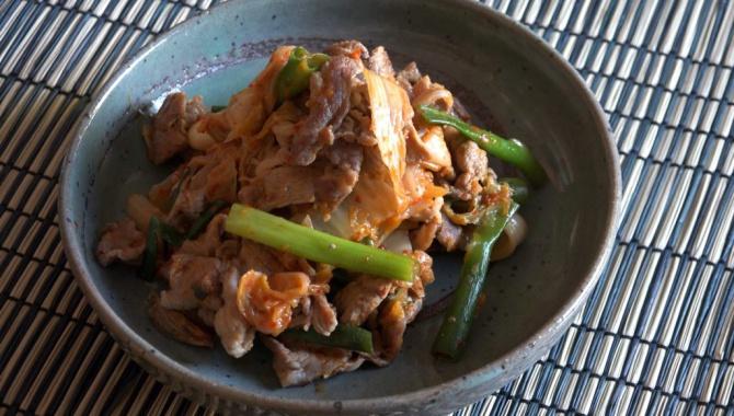 Бута Кимчи - Рецепт