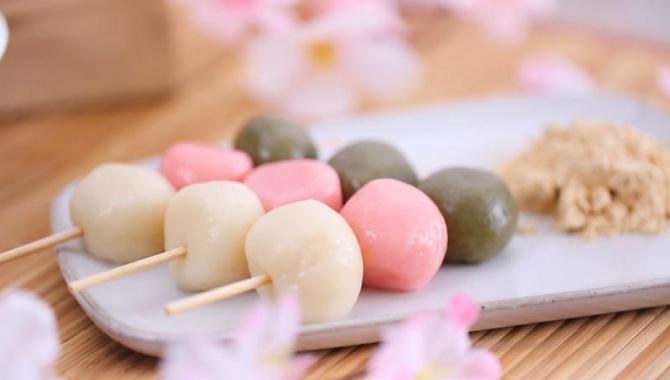 Ханами Данго - пошаговый рецепт
