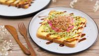 Тосты Окономияки - пошаговый рецепт