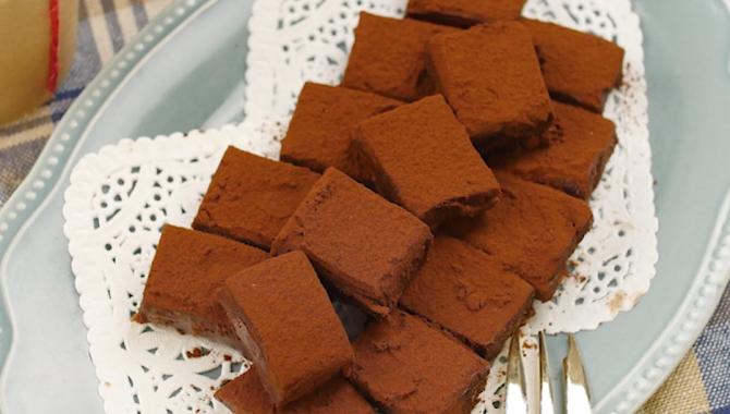 Легкий шоколадный десерт - Рецепт