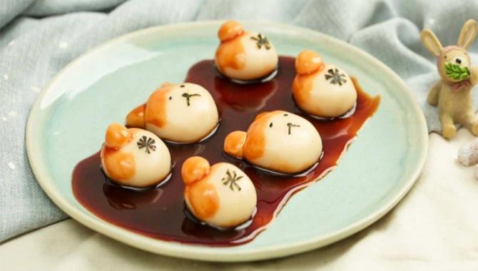 Рисовые шарики Сиба-Ину - пошаговый рецепт