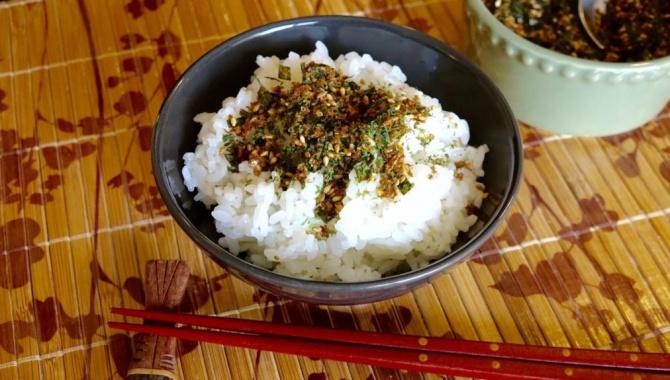 Посыпка для риса Фурикаке - Рецепт