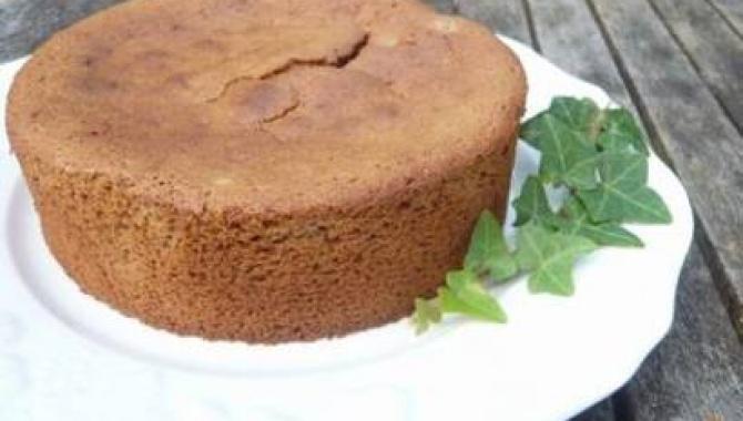 Каштановый торт - Рецепт