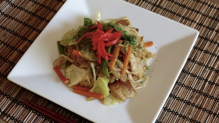 Ширатаки Якисоба - Рецепт