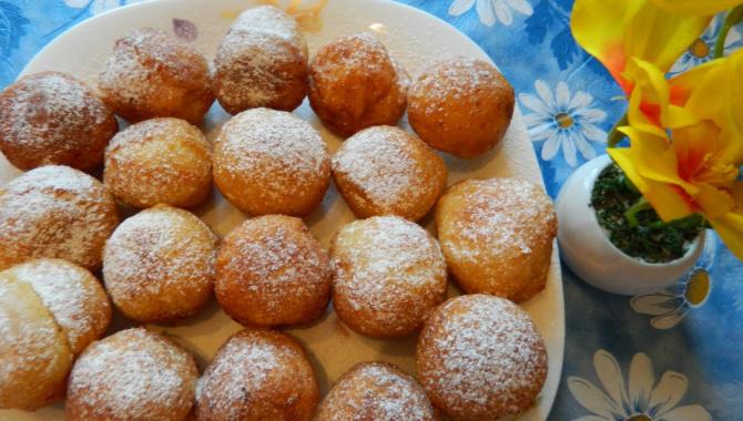 Рецепт пончиков с творогом