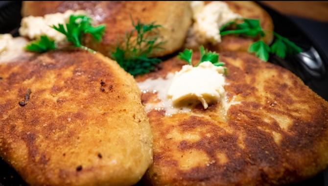 Картофельные зразы с мясом и грибами - Видео-рецепт