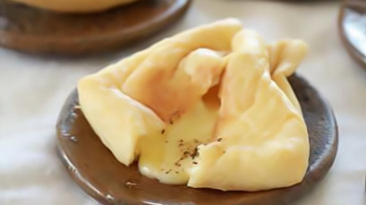 Лёгкая закуска из тофу с сыром