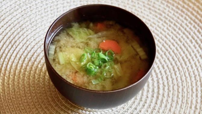 Мисо-суп на каждый день - Видео-рецепт