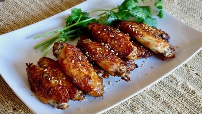 Запечённые куриные крылышки - Рецепт