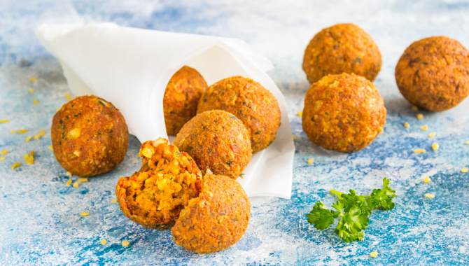Фалафель – питательные шарики из бобовых