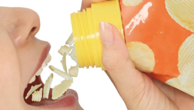 Японцы научились «пить» чипсы
