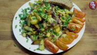 Жареная картошка - Видео-рецепт
