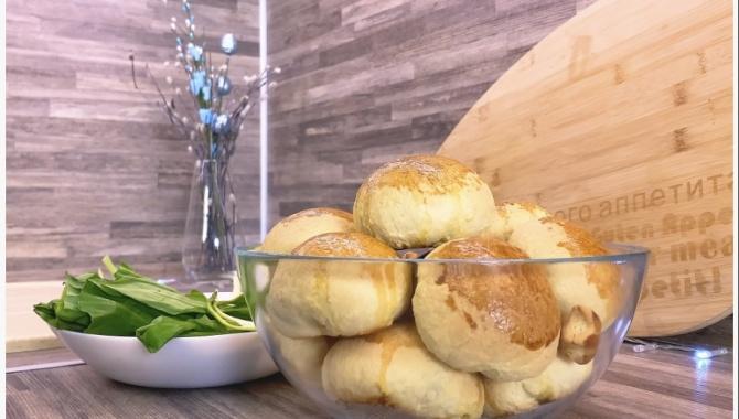 Пирожки с Черемшой и яйцом - Рецепт