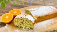 Апельсиновый кекс с орехами - Рецепт