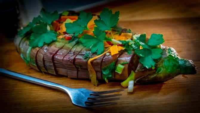 Квашеные фаршированные баклажаны - Видер-рецепт