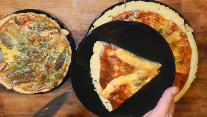 Пирог с луком - Видео-рецепт