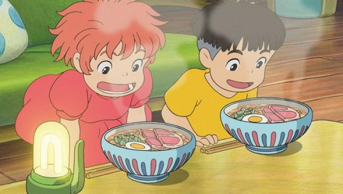 Любимые японские блюда героев студии Ghibli.